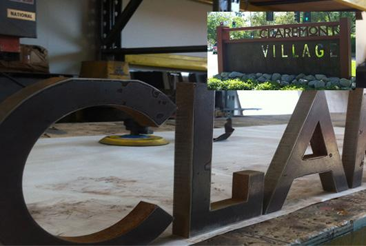 FABRICATION SIGN