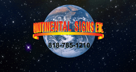 CONTINENTAL SIGNS ETC