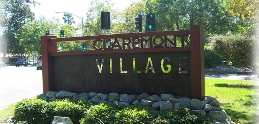 CLAREMONT VILLAGE WAY FINDING SIGNAGE